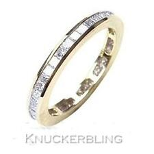 Diamond Full Eternity Wedding Ring 1.00ct Princess Cut F VS1 VG set in 18ct Gold