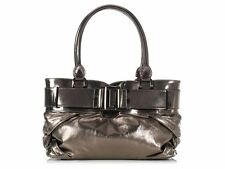 BURBERRY Small Knotted Bronze Healy Tote ~ Has its shine on!