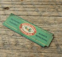 Antique Vtg Beech Nut Chewing Gum Wrapper Peppermint 1920s - 30s Advertising
