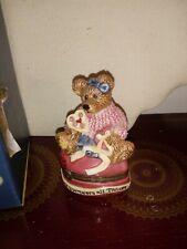 Boyds Bears & Friends Bearstone ~ Bailey Heart's Desire #2272