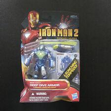 Marvel Avengers Iron Man 2 Deep Dive Armour Acción Figura en caja