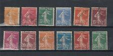 timbres la France semeuse