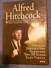 Alfred Hitchcock: 2007 DVD. Jamaica Inn, Sabotage, Easy Virtue, The 39 Steps