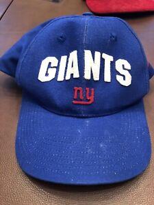 NEW Vintage NFL NY York Giants Football Team NIKE Hat w Tags Unisex-Adjustable