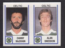 Panini - Football 81 - # 477 McGrain / Sneddon - Celtic