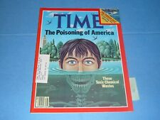 Time Magazine / September 22 1980 / Poisoning of America Toxic Chemical Wastes