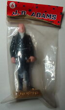 # 6 President J.Q. ADAMS 1960's Marx Painted Toy Figure New In Original Bag