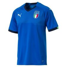 PUMA Italy Football Men's Home Shirt - L, XL, 2XL - Blue - New