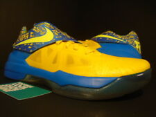 NIKE ZOOM KD IV 4 KEVIN DURANT SCORING TITLE WARRIORS YELLOW BLUE 473679-703 9.5
