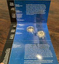 2019 Apollo 11 50Th Anniversary Two 2 Coin Half Dollar Set W Enhanced Kennedy
