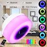 E27 Wireless bluetooth RGB LED Glühbirne Lautsprecher Musik Play Handy Control