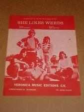 "Tee Set ""She Likes Weeds"" Dutch sheet music"