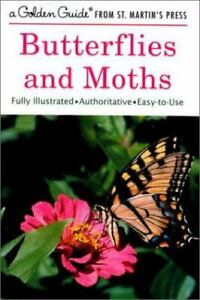 Golden Guide 160 Pages Paperback Field Guide to Butterflies and Moths Book (...