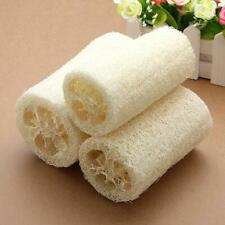 2xPcs Natural Loofah Bath Shower Sponge Scrubber Bath Body Shower