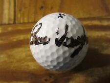 Bruce Vaughan Golfer Autographed Signed Beta Ti Tech Golf Ball PGA Tour