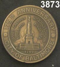 1972 BRONZE U.S. FRIGATE CONSTELLATION 175TH ANNIVERSARY MEDAL #3873