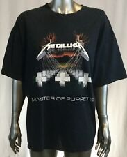 Metallica Master Of Puppets Song List Xl T Shirt Battery Orion Sanitarium