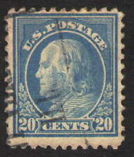 US. 515. 20c. Washington. P11.0. Used. 1917