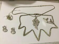 Bulk lot vintage deceased estate jewellery