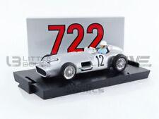 BRUMM 1/43 - MERCEDES-BENZ W196 - WINNER GP GRANDE BRETAGNE 1955 WITH DRIVER - R