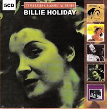 BILLIE HOLIDAY - TIMELESS CLASSIC ALBUMS (NEW SEALED 5CD)