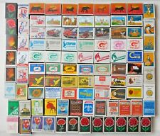 Modern Collection Set Matchboxes Without Matches Inside - 110 pcs.