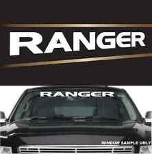 "Ranger Fun Cool Decal  Windshield Banner Vinyl Lettering 40"""