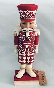 2019 Nordic Nutcracker GREETINGS FROM THE GUARD Figurine by Jim Shore 6004230
