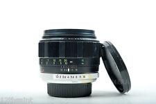 """Minolta MC Rokkor-PG 58mm F/1.2 Lens """"Read"""""""