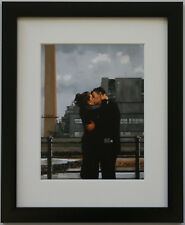 Jack Vettriano - Long Time Gone - Framed & Mounted Print Thin Black FREE P+P