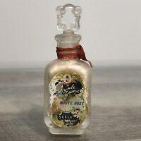 Vintage SEELY Perfumer Detroit Royale Essence White Rose Embossed