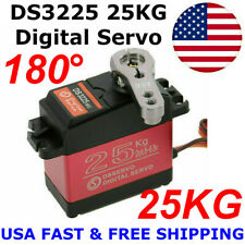 DS3225 25KG Metal Gear High Torque Waterproof Digital Servo For RC Z3U0 US Stock