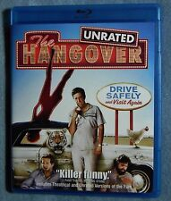 LIKE NEW The Hangover WS Blu-ray Disc 2009 UNRATED + RATED vers Heather Graham