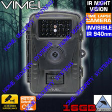 Trail Camera Farm Hunting Security System Scout Motion Activated Game Night PIR