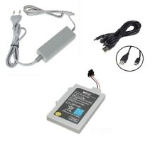 Batterie + Chargeur alimentation Nintendo Wii U Gamepad + chargeur USB Wii U