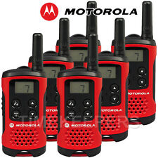 4 KM Motorola TLKR T40 Walkie Talkie 2 due vie PMR 446 Set Radio compatta SEI
