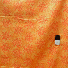 Valori Wells VVW01 Nest Leaves Tangerine Voile Fabric By The Yard