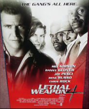Cinema Poster: LETHAL WEAPON 4 1998 (Main One Sheet) Mel Gibson