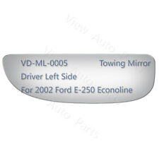 Lower Tow Mirror Glass for Ford E-250 Econoline Pickup Driver Left Side LH #3921
