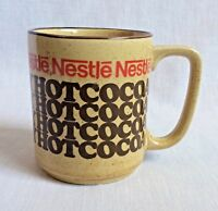 Nestle Rich & Creamy Hot Cocoa Ceramic Mug Coffee Cup Vintage 1970s