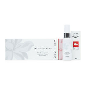 White Lotus Anti-Aging Biocompatible Dermaroller Stretch Mark And Cellulite Pack