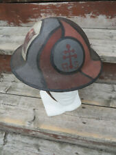 WW1 US AEF Advanced Sector Painted Railroad Engineer Helmet Train Camo Supply