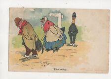 Tom B Tramps 1904 Comic Postcard 470b