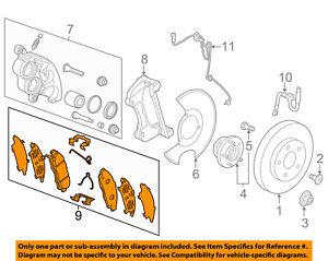 GM OEM Brake-Front-Brake Pads 84323140