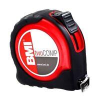 BMI twoComp Pocket Tape 472 Metric Tape Measure 5m, 8m & 10m - Made in Germany