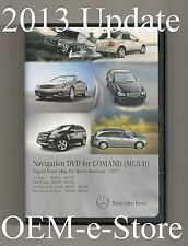 2006 2007 2008 Mercedes Benz R320 R350 R500 R63 Navigation DVD Map v2013 Update