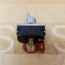 McGill 0090-0003 Toggle Switch 20A 250VAC, 20A 125VAC, 10A 250VAC 1HP 125-250VAC