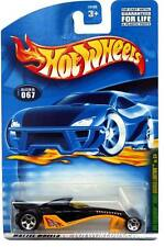2001 Hot Wheels #67 Rod Squadron Greased Lightnin' 5 spoke