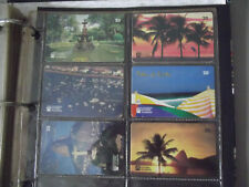 PLACES IN RIO JANEIRO 1998 Complete Set 6 Different Phone Cards from Brazil (2)