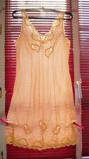 Fond de robe vintage nylon dentelles sexy  taille 46